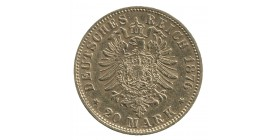 20 Marks Louis II - Allemagne Bavière