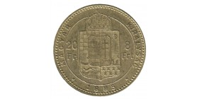 8 Florins / 20 Francs François Joseph Ier - Hongrie