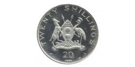 20 Shillings - Ouganda Argent