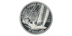 20 Dollars Kiribati Argent
