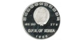 500 Won - Corée du Nord Argent