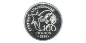 100 Francs Centenaire du Basket-Ball Dribbleur