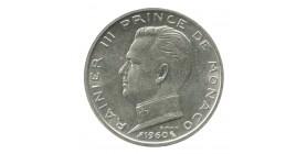 5 Francs Rainier III - Monaco Argent