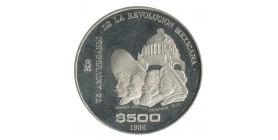 500 Pesos - Mexique Argent