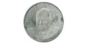 25 Dollars Churchill - Iles Cayman Argent