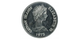 25 Dollars - Iles Cayman Argent