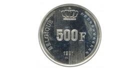 500 Francs - Belgique Argent