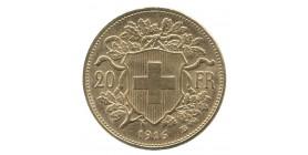 20 Francs Vreneli - Suisse