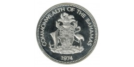 10 Dollars B.Butler - Bahamas Argent