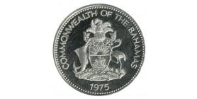 10 Dollars 1er Anniversaire de l'Indépendance - Bahamas Argent