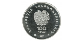 100 Dram - Arménie Argent