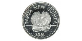 5 Kina Nouvelle Guinée Papouasie Argent