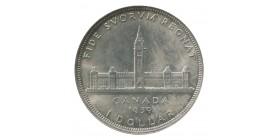 1 Dollar Georges VI - Canada Argent