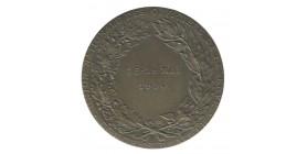 Médaille Congrès à Alger de l'Union Nationale des Officiers de Réserves - Algérie Bronze