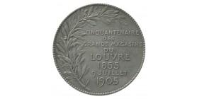 Médaille Cinquantenaire des Grands Magasins du Louvre Argent