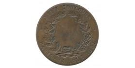 Médaille Association des Sociétés de Gymnastique de la Seine Cuivre