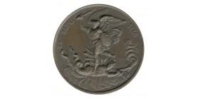 Médaille Henri V Comté de Chambord Naissance le 29.09.1820 Bronze