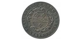 Jeton Corporation Brodeurs Chasubliers - Louis XVI Argent