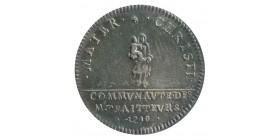 Jeton Corporation des Traiteurs Louis XVI Argent