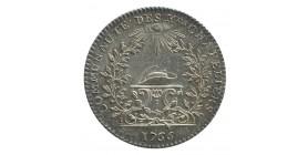 Jeton Corporation des Chapeliers Louis XV Argent