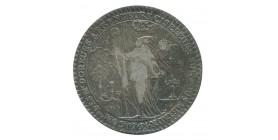 Jeton Corporation Doreurs Argenteurs Ciseleurs Louis XV Argent
