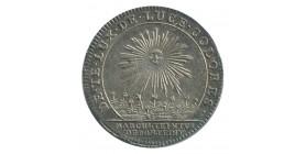 Jeton Corporation des Teinturiers Louis XV Argent