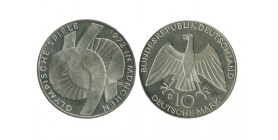 10 Marks Symbole Allemagne Argent