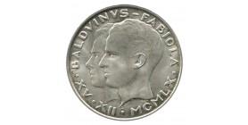 50 Francs Mariage de Fabiola et Baudoin - Belgique Argent
