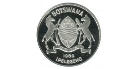 2 Pula - Botswana Argent