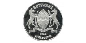 5 Pula Botswana Argent