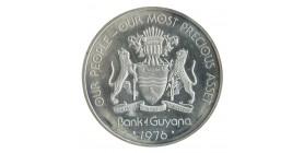50 Dollars - Guyana Argent