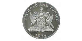 10 Dollars - Trinité et Tobago Argent