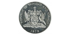 5 Dollars - République de Trinité et Tobago Argent