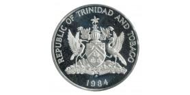 10 Dollars - République de Trinité et Tobago Argent