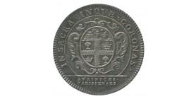 Jeton Corporation des Orfèvres Louis XV Argent