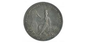 Jeton Corporation des Horlogers Louis XVI Argent