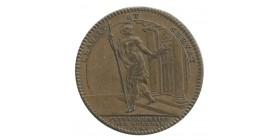 Jeton Extraordinaire des Guerres Louis XV Bronze