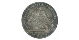 Jeton Extraordinaire des Guerres Louis XV Argent