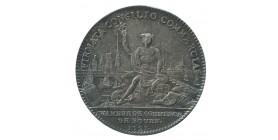 Jeton Chambre de Commerce de Rouen Louis XIV Argent