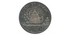 Jeton Corporation Apothicaires et Épiciers de Rouen Louis XVI Argent