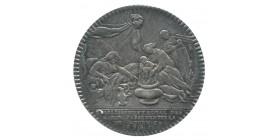 Jeton Corporation Marchands Passementiers de Rouen Louis XV Argent