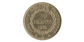 20 Francs Génie Troisième République