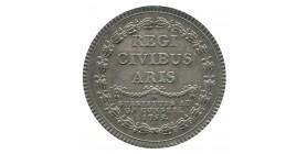 Jeton Conseil du Roi Substituts au Grand Conseil Louis XV Argent