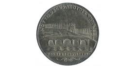 Jeton Ponts et Chaussées Louis XIV Argent