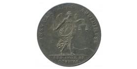 Jeton Corporation Juges et Consuls Louis XIV Argent