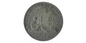 Jeton Bâtiments du Roi Louis XV Argent