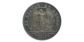 Jeton Bourse de Paris Agents de Change Louis XV Argent