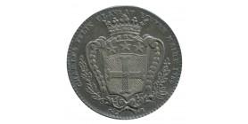 Jeton Noblesse d'Anjou Charles Felix Claveau Maire d'Angers Louis XVI Argent