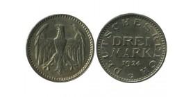 3 Marks Allemagne Argent