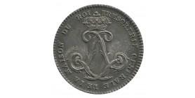 Jeton Trésorerie Générale de la Maison du Roi Louis XVI Argent